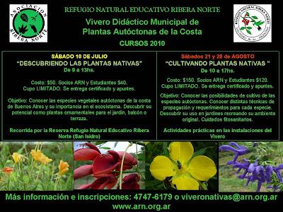 Paisaje bitacora junio 2010 for Vivero plantas nativas