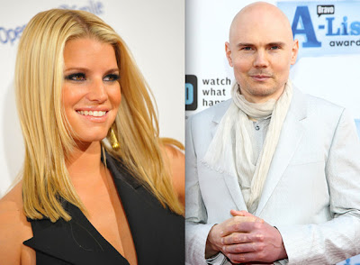 Jessica Simpson And Billy Corgan Photos