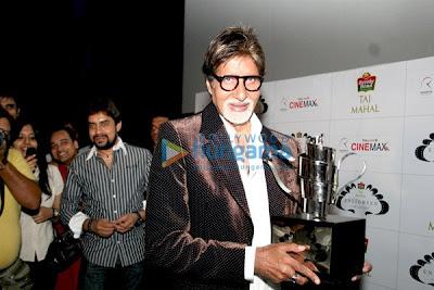 Amitabh Bachchan won The 'Taj Tareef' Award pics