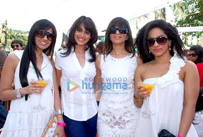 Genelia D'souza and Sonia Mehra at Elle Race image