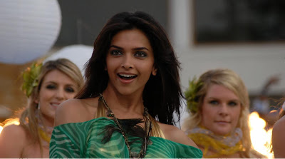 Deepika Padukone hot in green photos