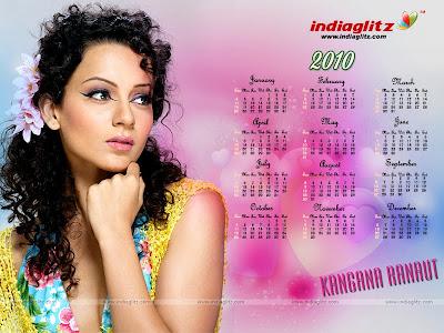 Bollywood Star Calendars 2010