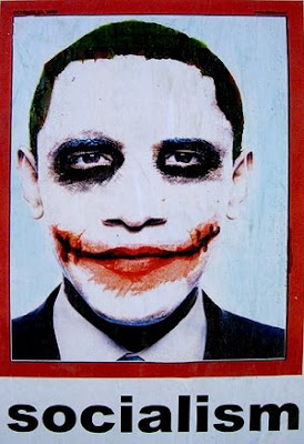 obama joker, obama joker shirt, obama socialist poster, newsbusters, obama poster