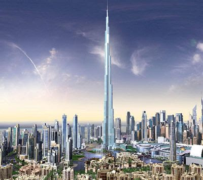 buildings in dubai. World#39;s tallest uilding photo
