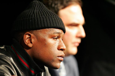 Mayweather verbally abuse sparring partner
