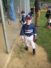 Carter starts T-ball!!