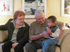 Grand-maman et Grand-papa Proulx