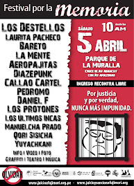 FESTIVAL POR LA MEMORIA