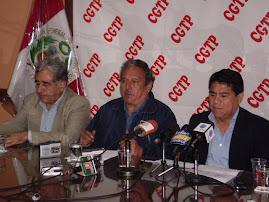CGTP Y CPS PROTESTARAN CONTRA BUSH