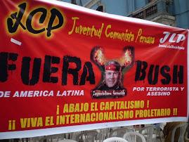 MITIN CONTRA BUSH Y SU POLITICA