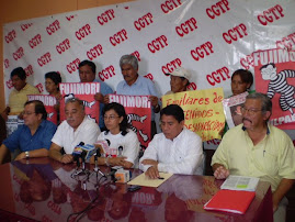 CONFERENCIA DE PRENSA CGTP, FUJIMORI CULPABLE