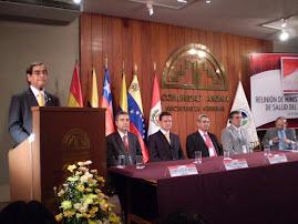 MINISTROS DE SALUD, AREA ANDINA