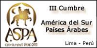 III Cumbre de Jefes de Estado y de Gobierno de América del Sur y Países Árabes (ASPA)