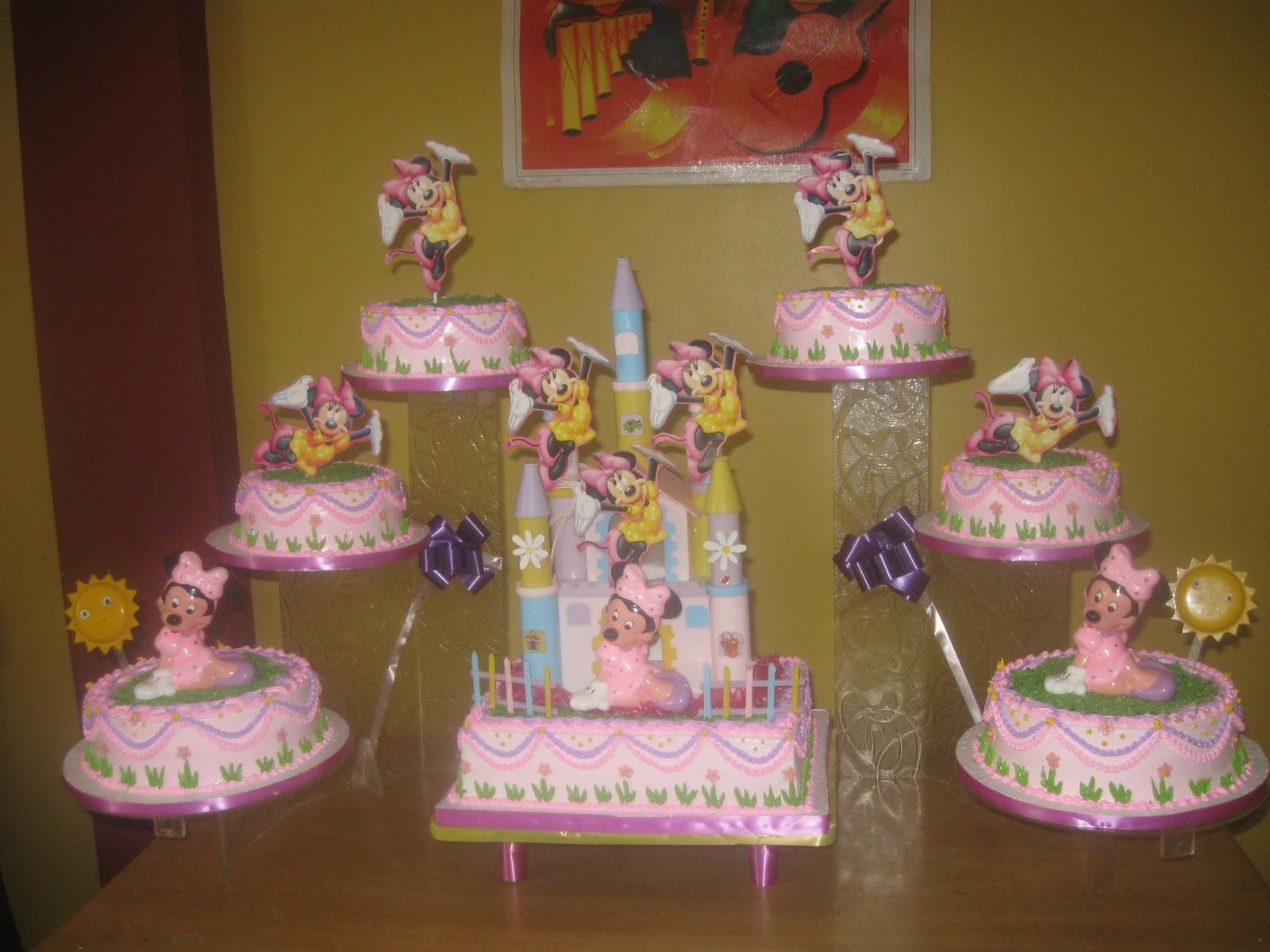 TORTAS DE ROSITA: Minnie