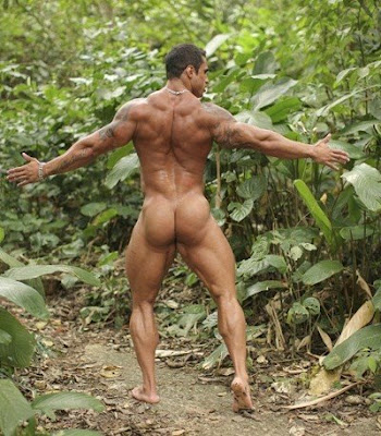 Have you ever tried getting naked outdoors? It is so liberating, I tell you.