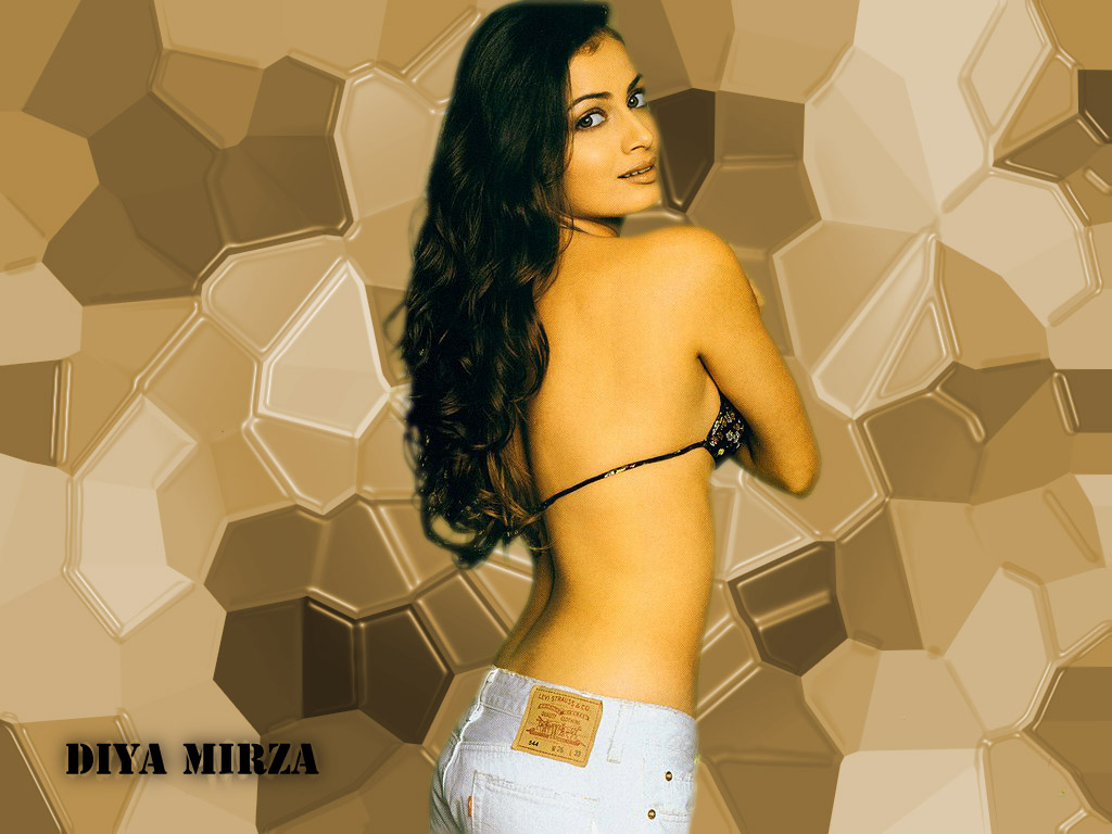 Bollywood Actress World Original Diya Mirza Hotties