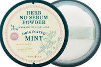 Herb No Sebum Powder(Mint)