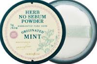 Herb No Sebum Powder(Mint)