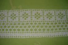 5ª- Toalha branca em crochet!!