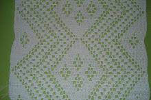 7ª- Colcha de casal em crochet!!