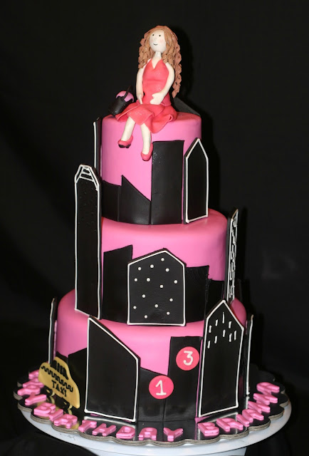 Pink Little Cake: New York City Cake and Cupcakes Favors