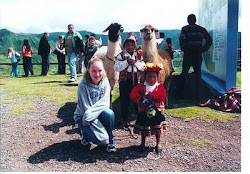 My oldest daughter Megan in Peru
