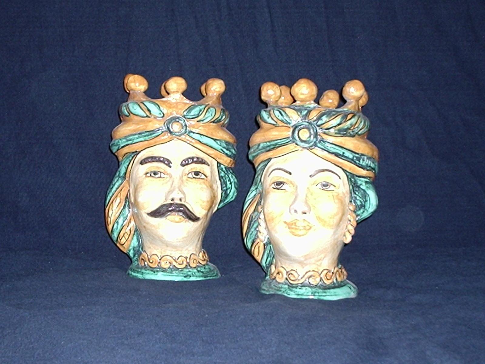 Ceramiche e dintorni storia delle teste di moro