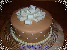 Ajándék diókrémes torta