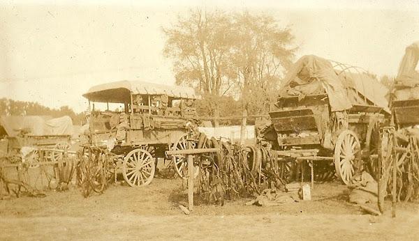 Army supply wagon, World War I
