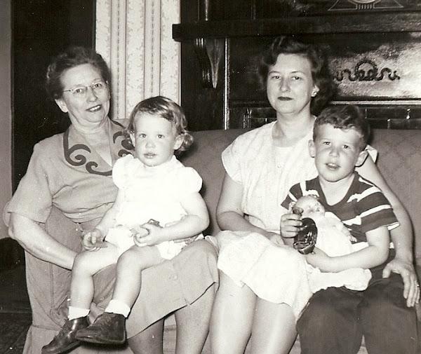 Bess & her children