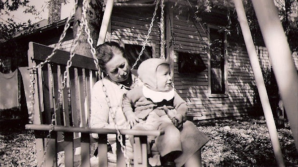 Bess & her first grandchild