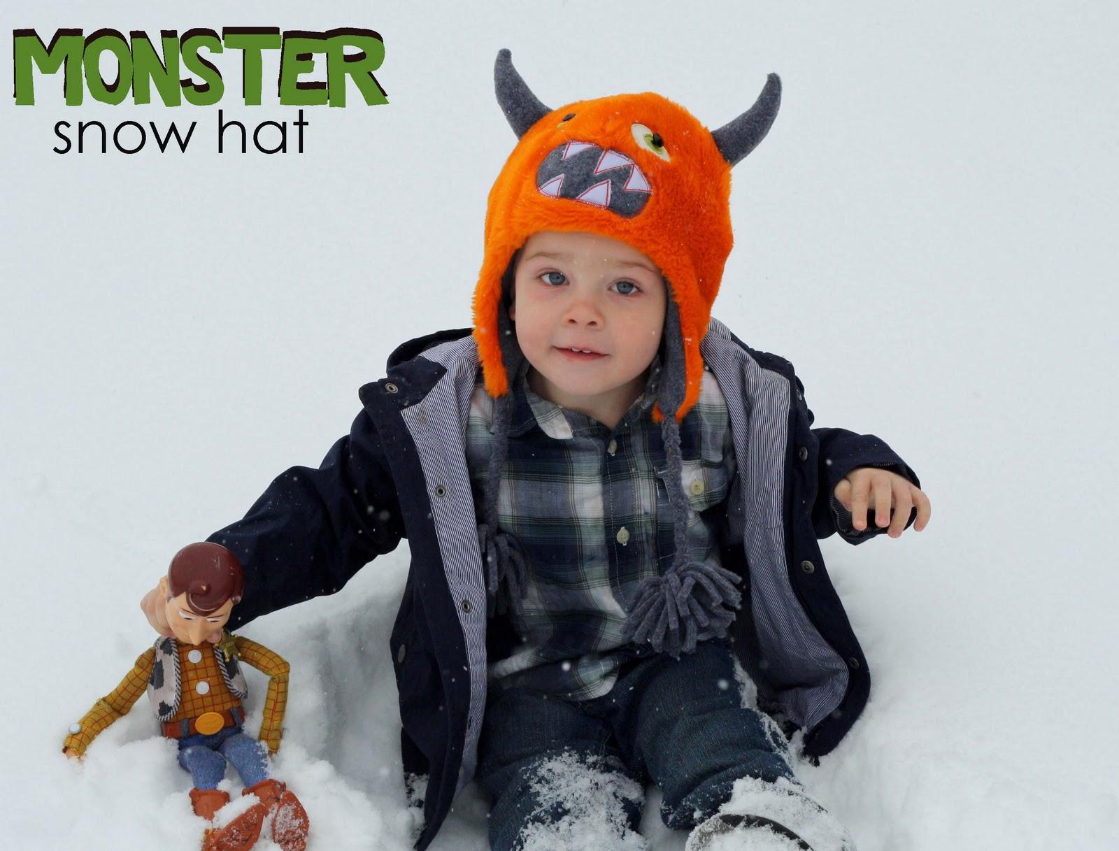 Running With Scissors  Snow Hat- Boys 57269a573b8