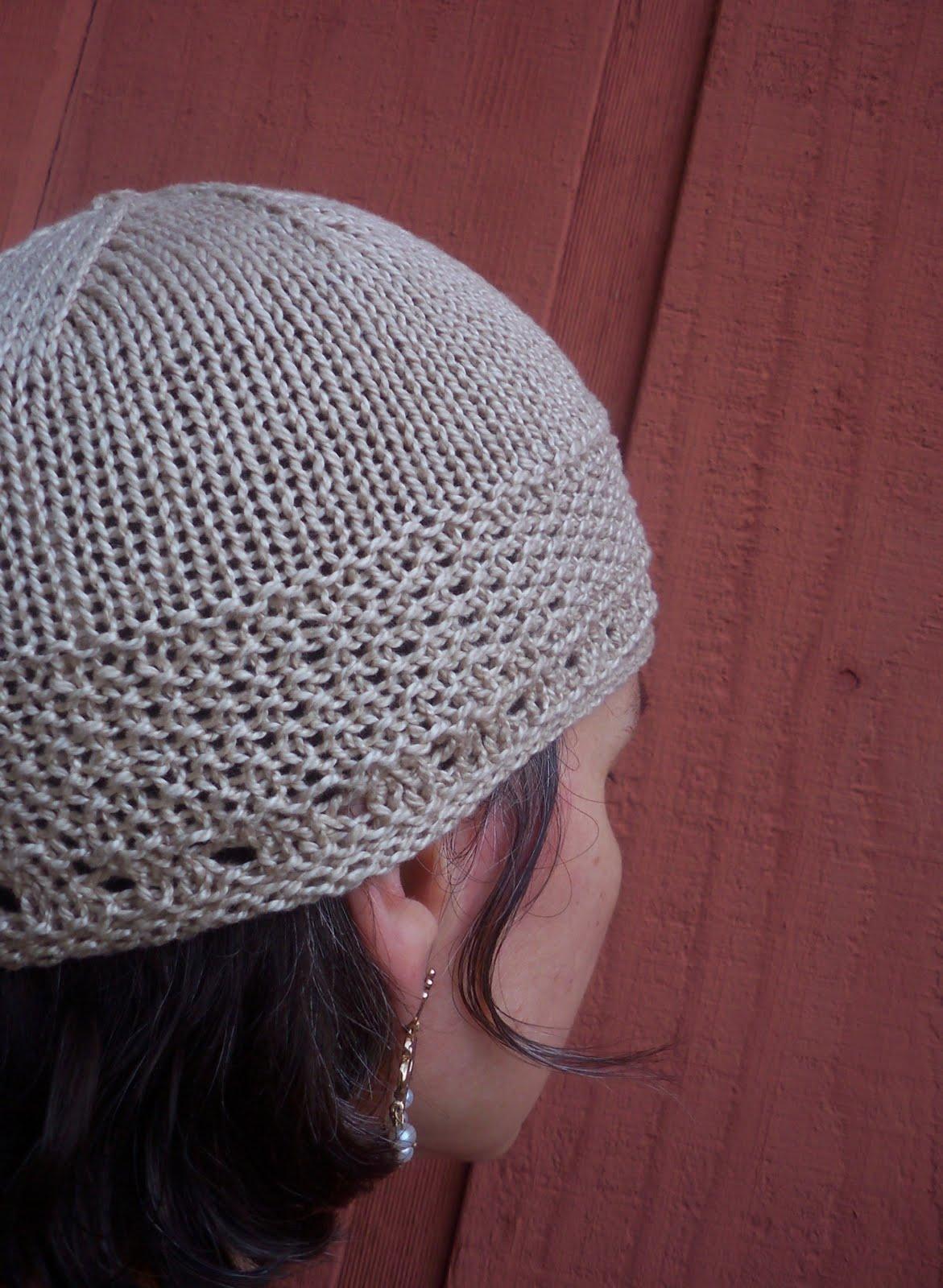 tangled...: april\'s hat pattern...