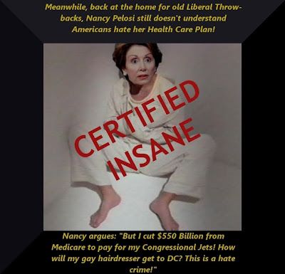 Nancy Pelosi strait jacket