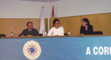 Susana Blanco Miguélez, Miguel Ángel Villar Pinto y Domingo González Lopo