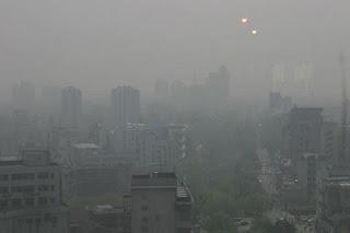 contaminación en las ciudades