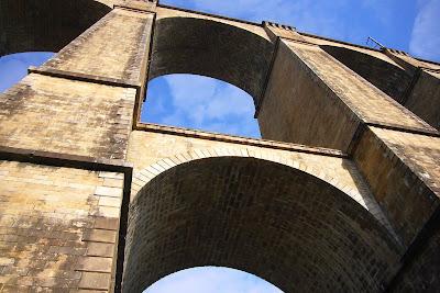 Viaduc de Morlaix in Finistère Bretagne France
