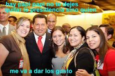 Chávez gozando un bolón como todo un oligarca imperialista