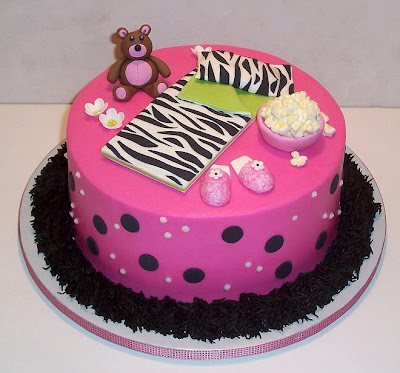 Pictures of Slumber Party Decorations http://cakecentral.com/t/719290/slumber-party-cake