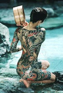Full Body Japanese Tattoo Art Design Picture 6