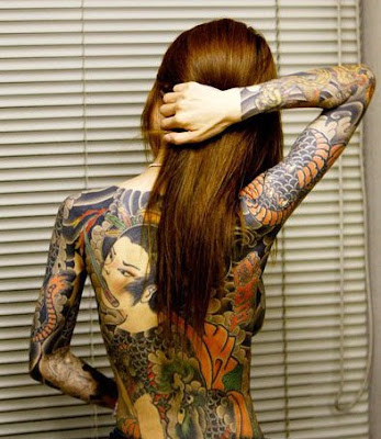 Best Girls Full Body Tattoos