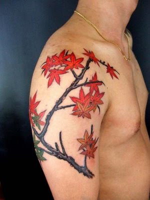 Cherry blossom are 1 with the preferred Japanese flower tattoos for girls