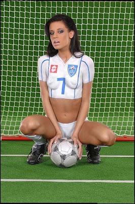 Football Body Painting Costum