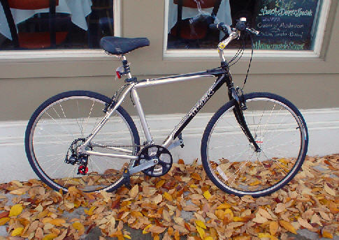 Trek hybrid bicycle.