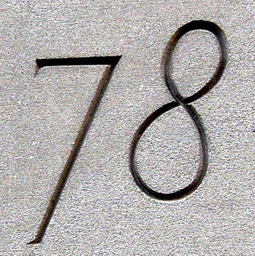 78 >> Numberaday 78