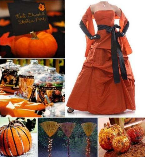 Halloween Weddings: Perfectly Planned By Brooke: October 2010