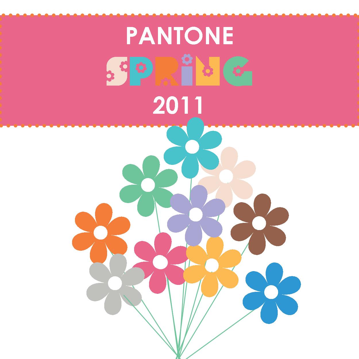 Pantone Spring 2011 For Spring 2011