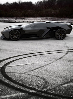 With A Hybrid Lamborghini Due To Arrive In 2015 And The Replacement For The  Murciélago Already Well Into Development, One Talented Car Designer Has  Unveiled ...