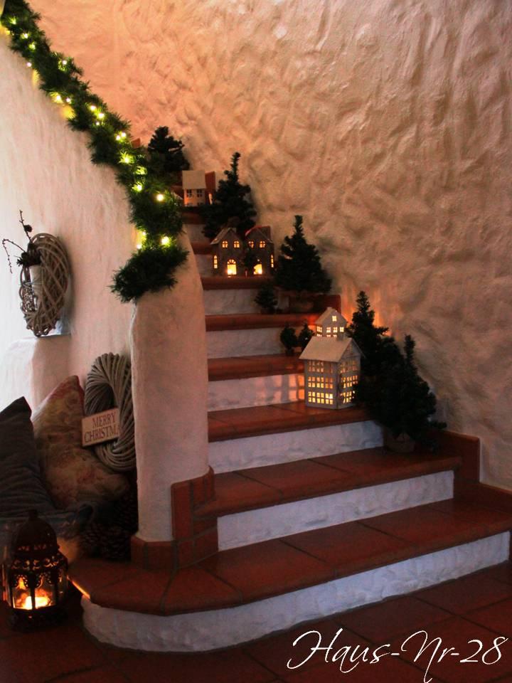 Haus Nr 28: Treppenlichter