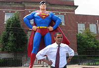 superman, barack obama, superhero, hero, save